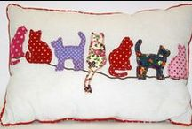 CAT QUILT IDEAS. / Cats as blocks in a quilt. / by Judyth Lutt
