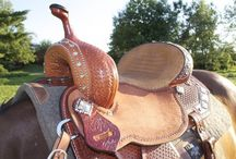 Barrel racing/Horse tack / by Haley
