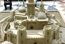 Creativity : Sand Castles & Sculptures