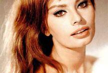 Sophia Loren / Italian Actress & Model