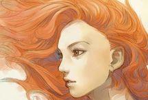 Redheads in Art
