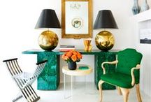 Gotta Be Green! (Decor) / Green home accents, designs, plants, etc. you name it, it's gotta be green!