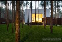 Дом-куб. Cube House. Yakusha Design. Architecture. Interior Design. Viktoria Yakusha
