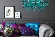 Jewel Tones That Talk / Home Decor: Jewel Tones