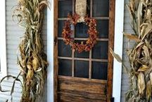 Fall into Fall (Decor) / home decor for fall