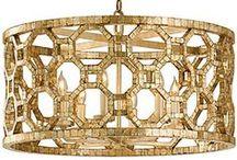 Chic Deco Lamps / Lámparas de techo, de mesa, de suelo, farolillos, farolas