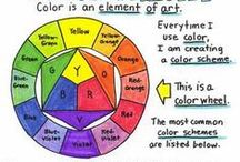 Color Theory / Understanding color theory is an important skill for colorists of adult coloring books.    Check out these resources on color theory so that you can get the best result from your coloring books. #colortheory #colorwheel #colourwheel