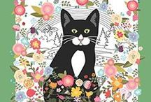 Cat Coloring Books For Adults / If you love cats and love coloring you might like this selection of cat coloring books for adults.    There's a huge range of styles and types to choose from. #catcoloringbooks #cats #colouring