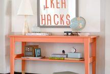 Ikea (Hacks) / Mobilier ikea révisité ou non.