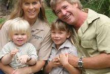 Celebs : Crocodile Hunter (Steve Irwin) & Family
