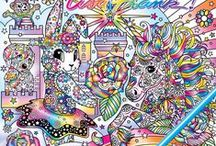 Coloring Wish List / I <3 coloring books for adults.   This is where I save the books that I really want and can't wait for them to come out.  Most of these are on pre-order but for some the release date has not been set yet.  So many coloring books such little time :)