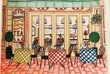 Debbie Macomber Come Home To Color / If you need inspiration for coloring any of the gorgeous images in the Debbie Macomber #coloringbook called Come Home to Color.   #comehometocolor #blossomstreet #debbiemacomber