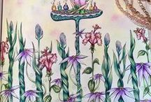 Denyse Klette Coloring Books / Fairies in Dreamland is the first coloring book by Candian artist, Denyse Klette.   Her second coloring book,  Mermaids in Dreamland is due for release in September 2017