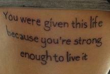 Tattoos / by Sheila Gallant