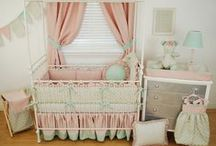 Custom Window Treatments / Pine Creek Bedding makes custom window valances and drapes for baby specialty store customers