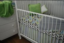 Crib bedding, no bumper pads / Crib bedding ideas that feature decorative fabrics, but no crib bumpers