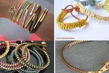 Šperky: náramky / Náramky, které si můžete sami vyrobit
