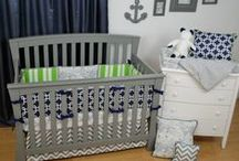 Sports Theme nursery / Team colors and a sports theme nursery get the whole family involved in decorating for baby