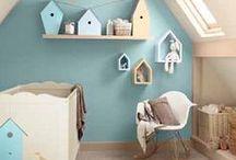 Inspiration Blue Nursery / Inspiratie babykamer jongen / Babykamer jongens, naturel, hout, pastel, turquoise, stoer en lief, auto's voertuigen, blauw