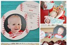 Fiesta de Beisbol / Fiesta de cumpleaños infantil tema beisbol para mi bebe y sus 2 añitos