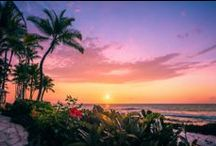 Sunsets at Hilton Waikoloa Village in Hawaii / by Hilton Waikoloa Village in Hawaii