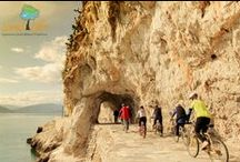 Cycling tours at Nafplio and Peloponnese in Greece via LandLife / Unique cycling experiences in hidden routes of Peloponnese