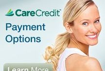 CareCredit / Ask us about financial options for your dental treatment, including CareCredit.