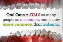 Oral Cancer / This is why we do a thorough oral cancer screening with every exam.