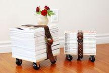 Bydlení: Nábytek / Inspirace na DIY a recy nábytek