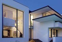 Modernere huizen / Moderne huizen