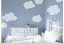 Hemel, wolken & muur / Muur met wolken 'hemelmuur'