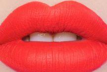 Lips and glamorous bits...