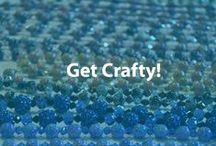 Get Crafty!  / Save money and create unique crafts at the same time! For other frugal tips, visit our website Cheapism.com.  / by Cheapism.com