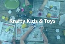 Krafty Kids & Toys / If you are on the hunt for clever kids' crafts and fun toys, look no further than Cheapism.com. Find out what children like best by watching our product review videos! / by Cheapism.com