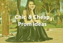 Chic & Cheap Prom Ideas / Go big at the prom without overspending. Find cheap prom dresses, accessories, gifts, and more. / by Cheapism.com