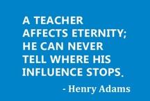 Quotes for Teachers / Inspiring quotes for teachers www.goedonline.com
