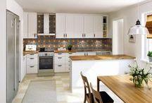 Våra kök / Ett urval var våra kök. Från modernt till lantligt