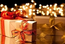 """GIFTS  & glorious Wrappings / it is written, """"it is more Blessed to give than to receive"""", but the joy in giving can start even with  wrapping and then seeing that wonder as the gift is opened. / by Heather B'"""