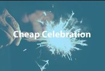 Cheap Celebration / From cheap wine to a new inexpensive television, learn frugal tips and ideas for celebrating any big event. / by Cheapism.com