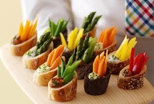 Ⓥ Food : Appetizers, Party-Food, Finger-Food (easily veganizable) / Visual inspiration & recipes. / by Megan Franklin Ⓥ