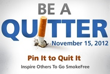2012 Great American Smokeout / Encourage your friends to help create a world with less cancer and more birthdays by making a plan to quit tobacco or taking part in the fight against tobacco on November 15. www.cancer.org/smokeout