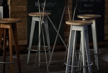 Stool / Bar chair / by Katka Horáková