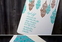 Invitaciones / Invitations / Diseño gráfico aplciado a invitaciones, letterpress y todo lo relacionado con motivos de boda. Graphic design in invitations, letterpress and eveything related with wedding elements.