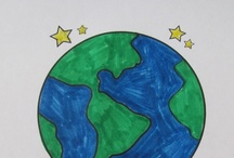 Earth Day Coloring Pages, Worksheets, and Books / Earth Day Coloring Pages, Worksheets, and Mini Books. Customize your materials by changing the font and text