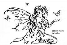 DIBUJOS - DISEÑOS - PATRONES / Dibujos para pintar, pirograbar, calar. / by Ana Maria Maza Andrade