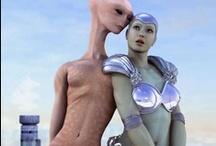 Sci-Fi / #alien #ET #future #space