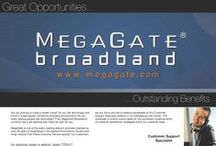 MegaGate Job Opportunities / Job Openings at my employer, MegaGate Broadband, Inc. / by Kyle Jones