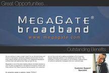 MegaGate Job Opportunities / Job Openings at my employer, MegaGate Broadband, Inc. / by Kyle Jones