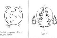 A Day in My Life - Earth Science / Earth Science Printables- A Day in My Life (Common Core Standard K.3.c.)