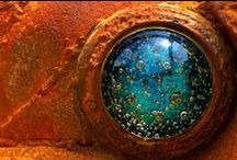RUST IN PEACE / The strange beauty of altered states / by Heather B'